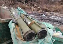 На Украине нашли противотанковые гранатометы в мусорке