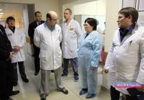Представитель тыла МВД проверил свердловских врачей в погонах