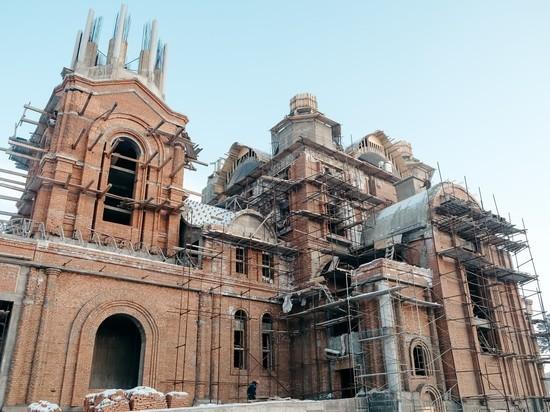 Строительство кафедрального собора в Улан-Удэ может затянуться еще на 9 лет