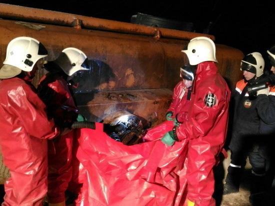 Спасатели Марий Эл ликвидировали разлив дизтоплива