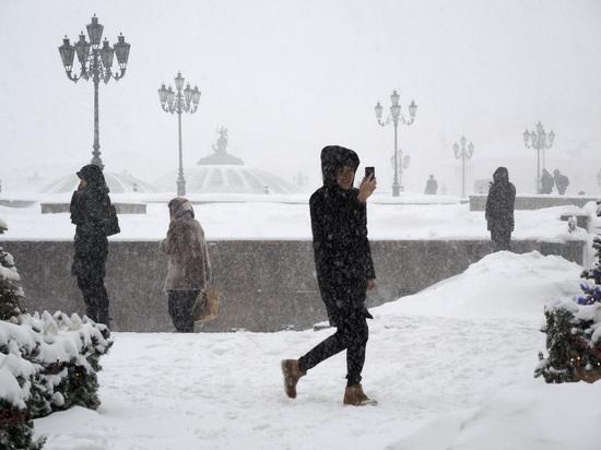 В Москву идет «настоящая зима»