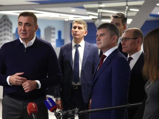«Россети» представили Алексею Дюмину новый центр управления сетями региона