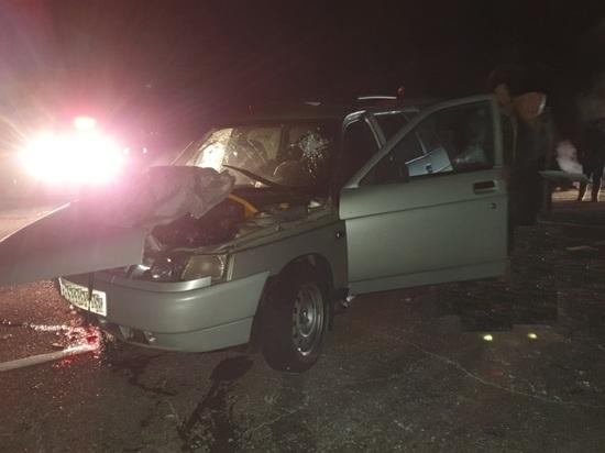 В Туве по вине водителя грузовика травмированы два пассажира легковушки