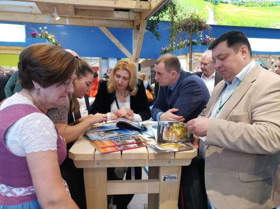 Тамбовская делегация побывала на «Зеленой неделе» в Берлине