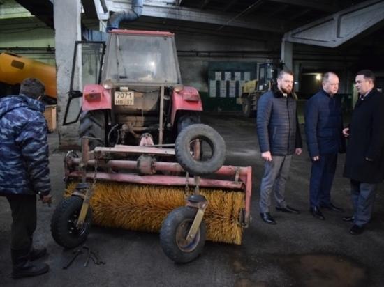 Сюрпризы нынешней зимы не приносят проблем ивановским коммунальщикам
