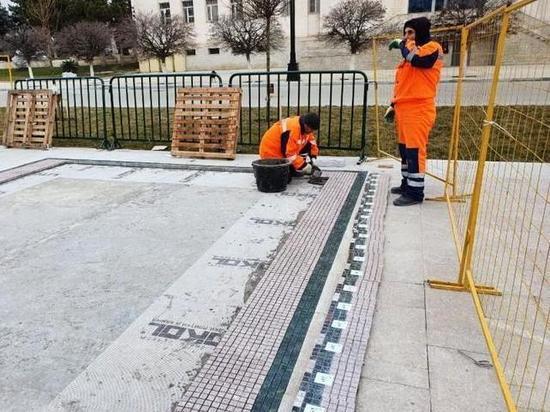 Узорами национальных ковров украсят площадь Дагестана
