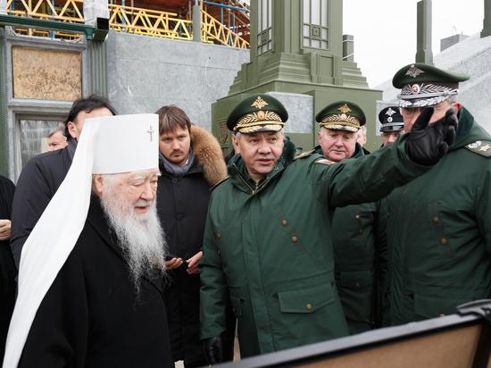 Художественный совет оценил ход строительства главного храма Вооруженных сил