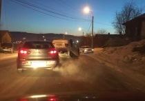 Водитель иномарки перевернул машину возле Титовской сопки в Чите