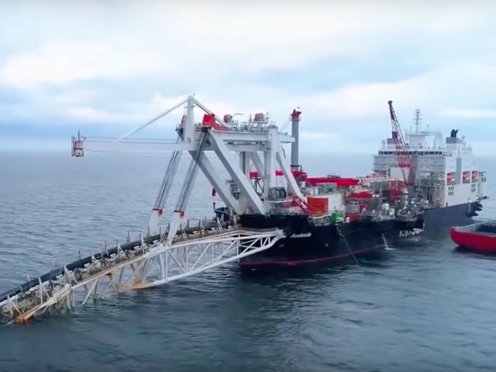 После ввода санкций США «Северный поток - 2» посетило судно-инспектор