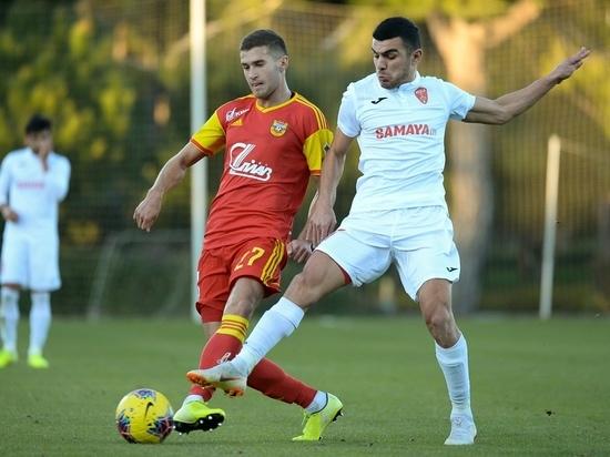 Тульский «Арсенал» обыграл «Кешля» в контрольном матче в Турции