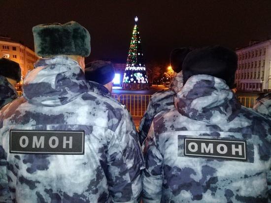Псковичей приглашают на службу в ОМОН
