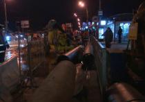 В Воронеже на левом берегу обрушился канализационный коллектор