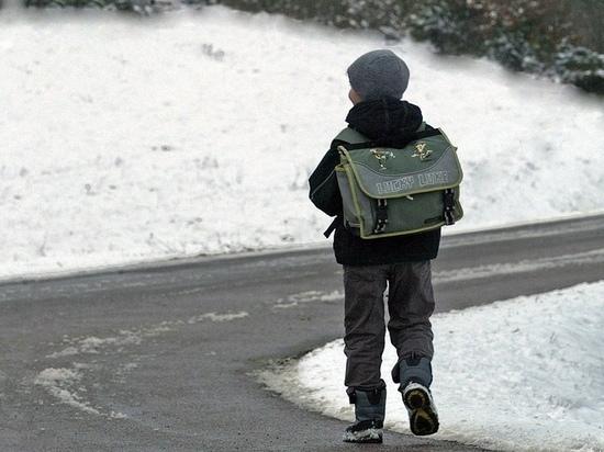 В Хакасии 7-летний мальчик прошёл один по трассе 8 км прежде, чем его спасли