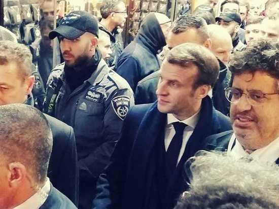 Президент Макрон устроил скандал в Иерусалиме