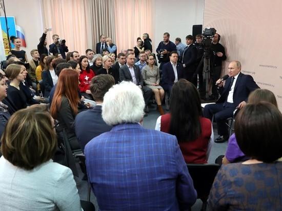 Путину предложили построить в Черноземье