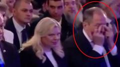 Лавров заплакал на церемонии в Израиле