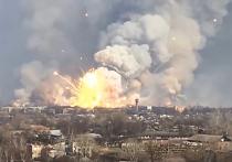 На Украине нашли виновных в серии взрывов на складах с оружием