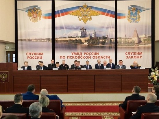 Псковская область вошла в топ-регионов, где больше всего доверяют полиции