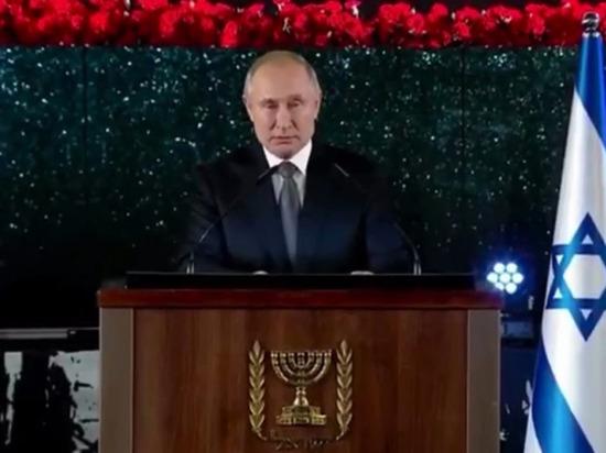 Путин расплакался на открытии памятника героям блокадного Ленинграда