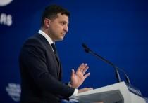 Зеленский в Давосе предложил иностранцам скупать украинские земли