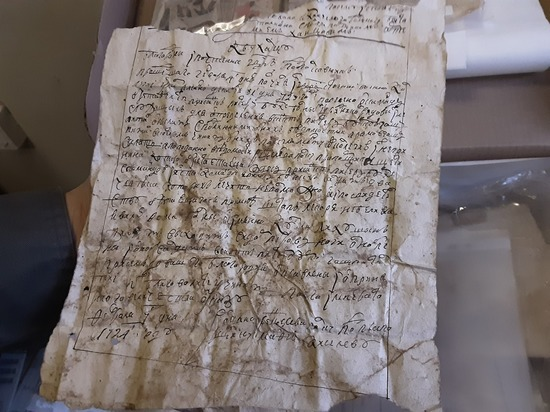 Археологи наткнулись на семейные тайны кадетов во дворце Меньшикова
