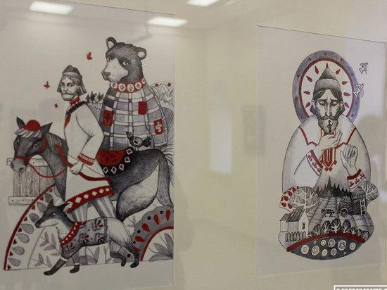 В Йошкар-Оле стартовала выставка «Культурные диалоги художника и дизайнера»