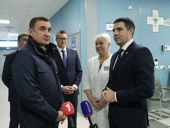 Алексей Дюмин обозначил приоритетное направление развития здравоохранения в Тульской области