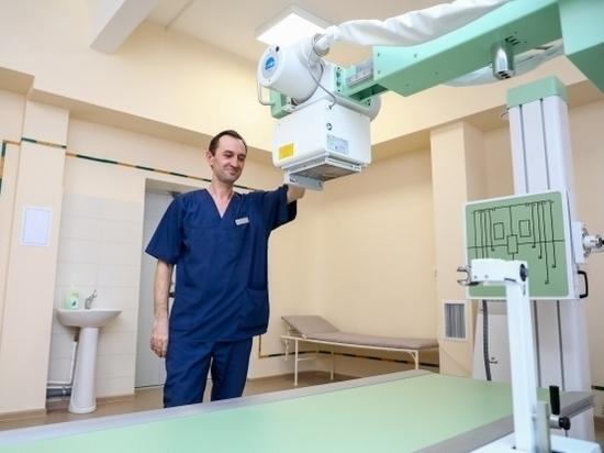 В Волгоградской больнице №4 установлен цифровой рентген-аппарат