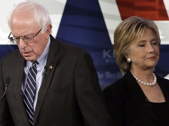 Хиллари Клинтон против Берни Сандерса