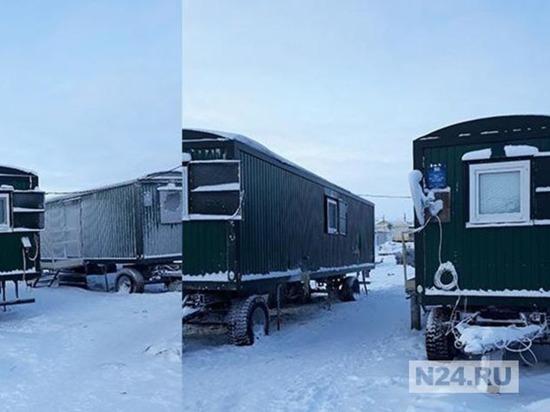 Жителей Тазовского переселят в квартиры из балков
