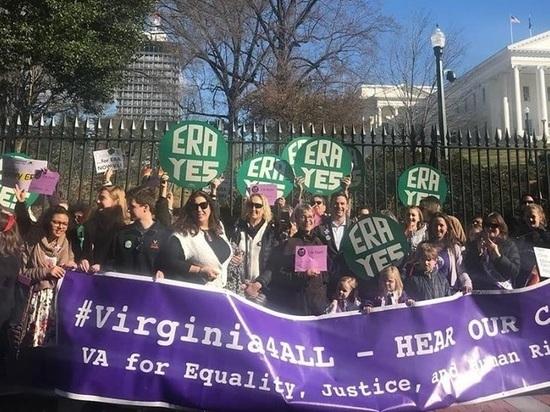 Вирджиния утвердила «Поправку о равных правах»