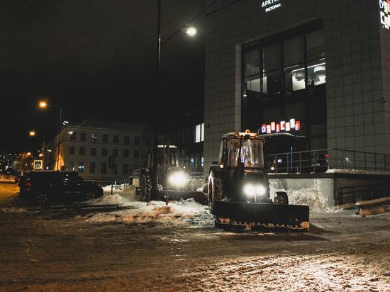 Парковку автомобилей ограничат в Мурманске из-за уборки снега