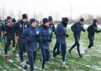 Игроки футбольного клуба «Челябинск» провели открытую тренировку
