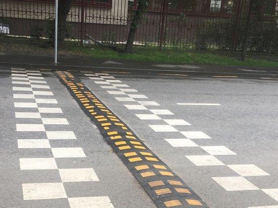 Пешеходные переходы в Калуге оборудуют неровностями