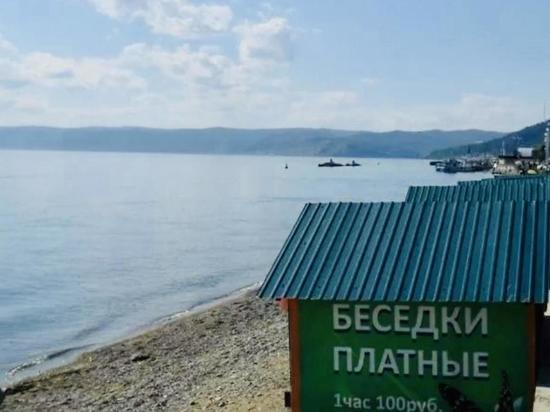 В Листвянке будут сносить платные беседки на берегу Байкала