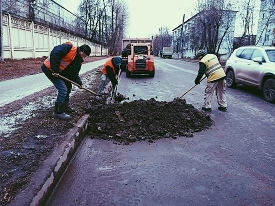 Плохую уборку улиц Калуги связали со сбоем системы контроля техники