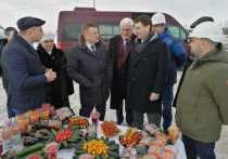 Полпред президента в ЦФО посетил тепличный комплекс «Мичуринский»