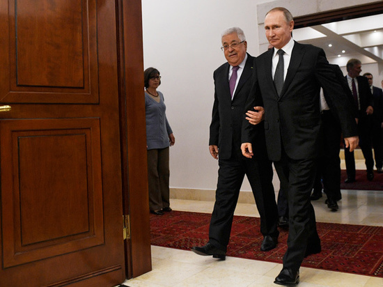 Палестинский оркестр неудачно исполнил гимн России перед Путиным