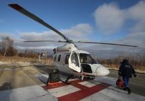 Пенсионера из Уреня с инфарктом перевезли на вертолете в Нижний
