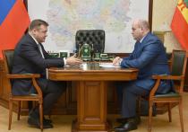 Любимов встретился с  главой администрации Шиловского района