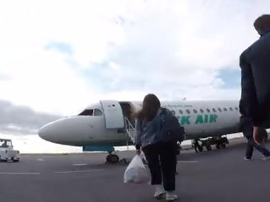 В самолетах Bek Air нашли тазики под протекающими двигателями