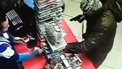 Серийный налётчик в Подмосковье обчистил очередной магазин: видео