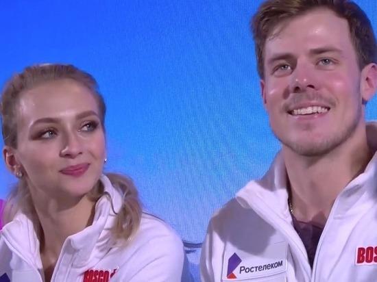 Синицина и Кацалапов стали чемпионами Европы в танцах на льду