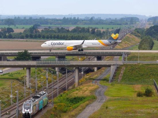 Куда из Германии поездом добраться быстрее, чем самолётом