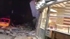На востоке Турции произошло разрушительное землетрясение: видео очевидцев
