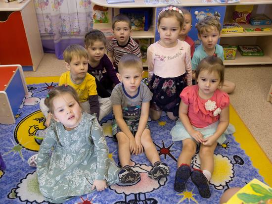 Детские сады строятся высокими темпами