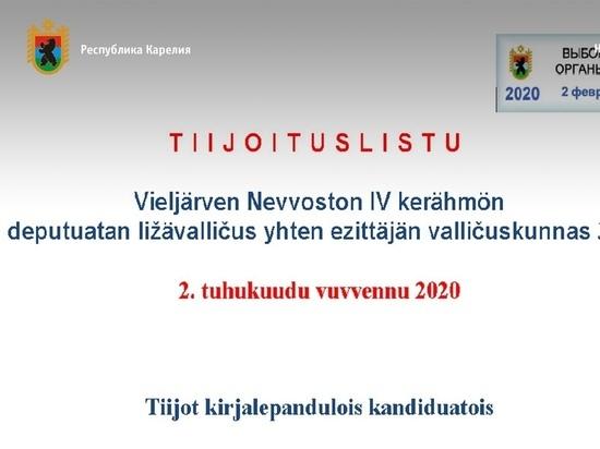 Сведения о кандидатах на выборах в Пряжинском районе переведут на карельский