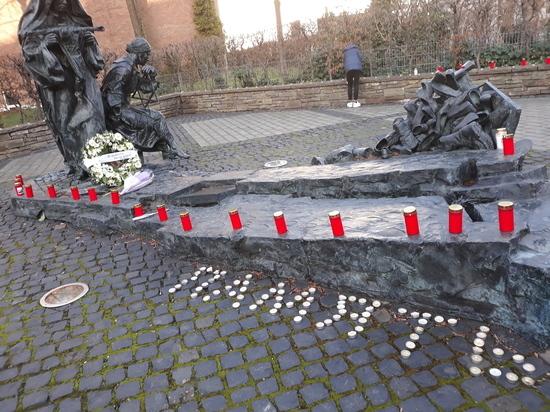 Кёльн вспоминает Холокост: Общественная организация «Память Gedenken» у мемориала Эдит Штайн