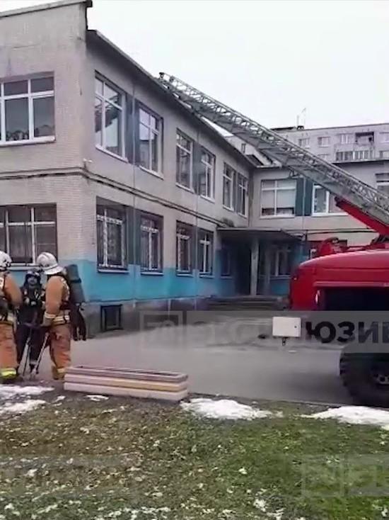 В Колпино из-за пожара в детском садике эвакуировали 177 детей