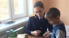 Об оставленных в Шереметьево мальчиках позаботились сотрудники СК: видео